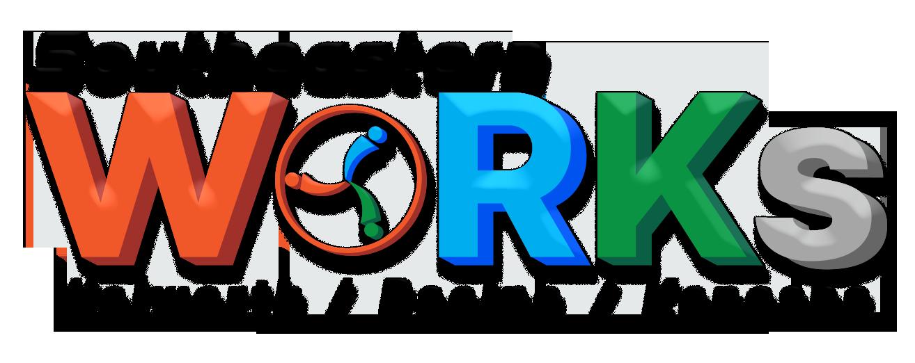 WORKS logo png file black version